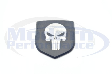 Punisher CNC Machined Front Badge, 03-05 Neon SRT-4
