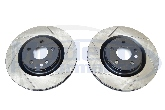StopTech Slotted Rotors (Front Pair), 08-10 Cobalt SS / HHR SS