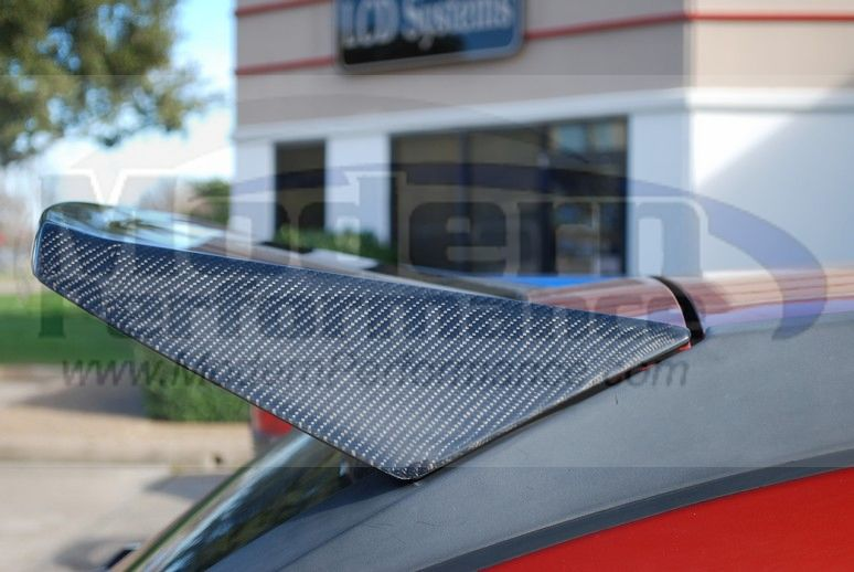 CBD Carbon Fiber Spoiler, 07-12 Caliber, Other Exterior: Store Name